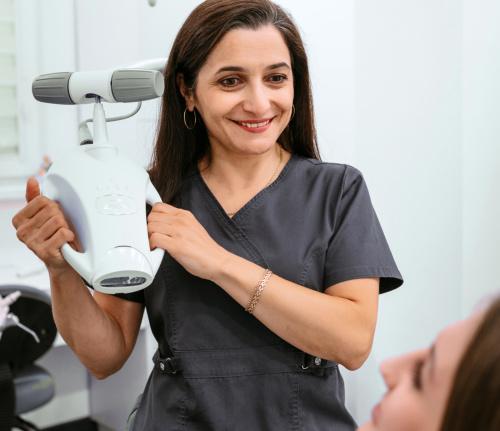 Лечение зубов без стресса